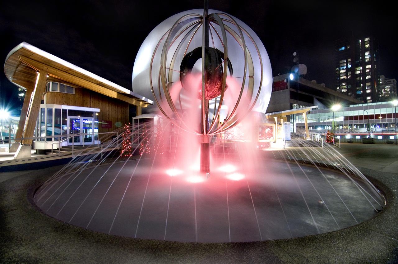 интерактивен сух фонтан